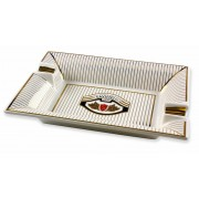 Savinelli Logo Ceramic Ashtray For Cigar